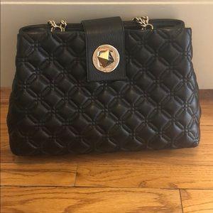 Black Quilted Kate Spade Bag